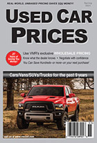 VMR Used Car Prices, Spring 2021